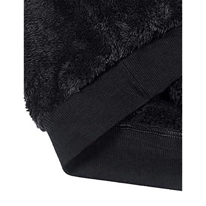 iWoo Men's Warm Fleece Hoodie Fluffy Pullover Viscose Sweater Sweatshirt with Two Pockets 5
