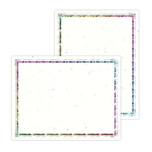 Astrobrights Foil Enhanced Certificates, 8.5