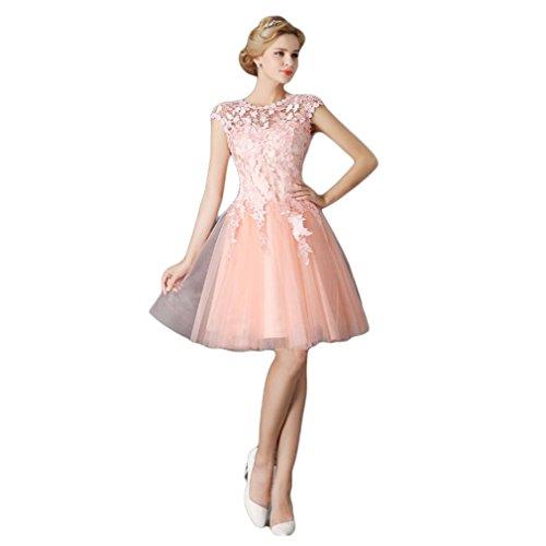 Damen Rosa Pink A Drasawee Linie Kleid 1fFUwqvxd