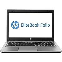 HP 14 HD Premium Flagship Business Ultrabook Laptop Computer, Intel Dual Core i7-3667U 2.0Ghz CPU, 8GB RAM, 128GB SSD, VGA, DisplayPort, Webcam, Windows 10 Professional (Certified Refurbished)
