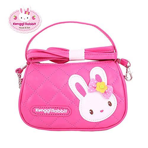 [해외]Konggi Rabbit Quilting Handbag Hot Pink / Konggi Rabbit Quilting Handbag Hot Pink