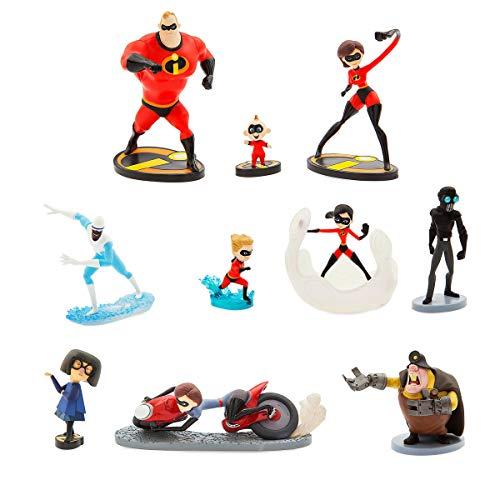 (Disney Pixar Incredibles 2 Deluxe Figure Set)