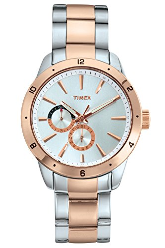 Timex-Mens-Analogue-Silver-Dial-Watch