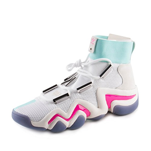 adidas Mens Crazy 8 ADV Nicekicks White/Mint-Purple Mesh
