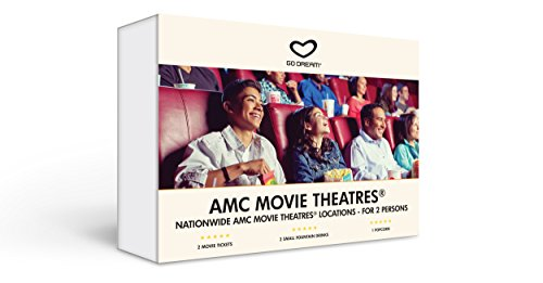 Ticket Date (AMC Movie Theatre Tickets For Two Experience Gift Card - GO DREAM - Sent in a Gift Package)
