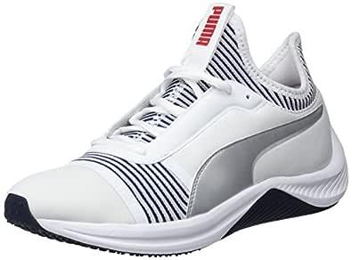 PUMA Women's Amp Xt WN's Wht-Peacoat Shoes, Puma White-Peacoat, 5.5 US