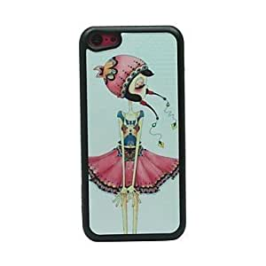 BuW Nationality Girl Drawing Pattern Hard Case for iPhone 5C, iphone 5c cases, iphone cases, iphone 5c case, 5c cases, iphone 5c covers Kimberly Kurzendoerfer