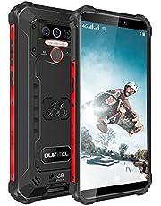 Oukitel WP5 Pro (2021) 4G Outdoor Smartphone zonder abonnement, IP68 waterdicht, 5,5 inch, 8000mAh batterij, 4GB + 64GB, Android 10.0, drievoudige camera, gezichtsherkenning