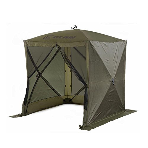 Quick-Set Clam Traveler Portable Outdoor Gazebo + 3 Wind Panels