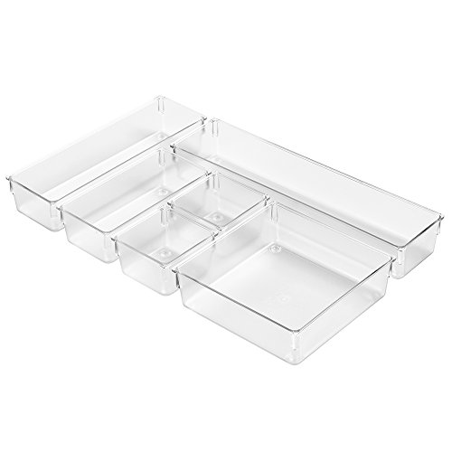 Interdesign kitchen drawer organizer storage trays for for Inter designs