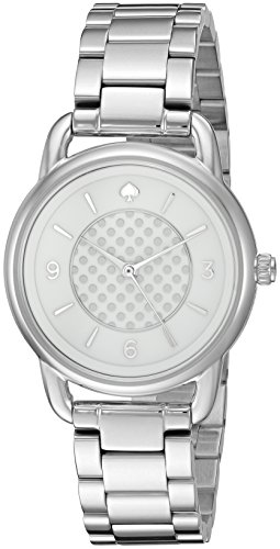 kate spade new york Women's KSW1165 Boathouse Analog Display Quartz Silver Watch