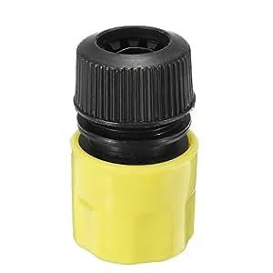 HITSAN - Manguera de Agua de plástico de 5 cm con Conector rápido para tapón de jardín