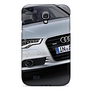 Galaxy Case - Tpu Case Protective For Galaxy S4- Audi A6 Quattro