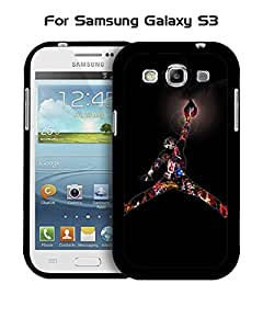 Cool Funda Case for Samsung Galaxy S3 i9300 Brand Logo Air Jordan & Just Do It Ultra Thin Slim Dust Proof Impact Resistant Tough Customized