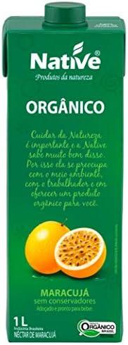 Néctar de Maracujá Orgânico Native 1L