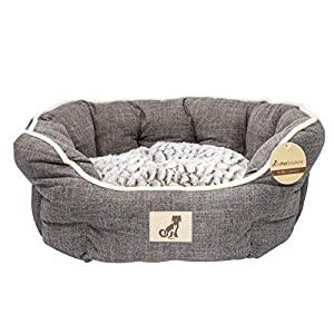 AllPetSolutions Alfie Range - Fleece Lined Warm Dog Bed - Washable 9
