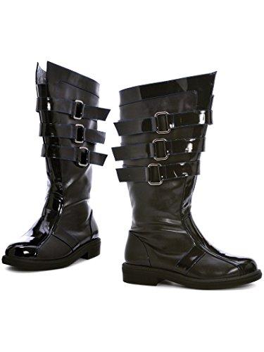 Ellie Shoes 1 Inch Black Mens Boot (Black;Medium)