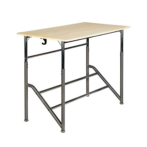 - VARIDESK Education - Stand2Learn Desk for Two 5-12 - Adjustable Height Active Student Standing Desk