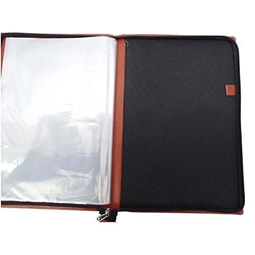 1 Folder Black Avery Flexi-View Two Pocket Folder 47877