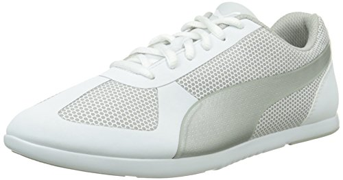 White Femme Basses Puma Silver Blanc Modern Baskets Soleil qwHYRI