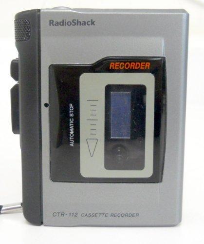 Radioshack CTR-112 Cassette Tape Recorder w/ Cue & Review