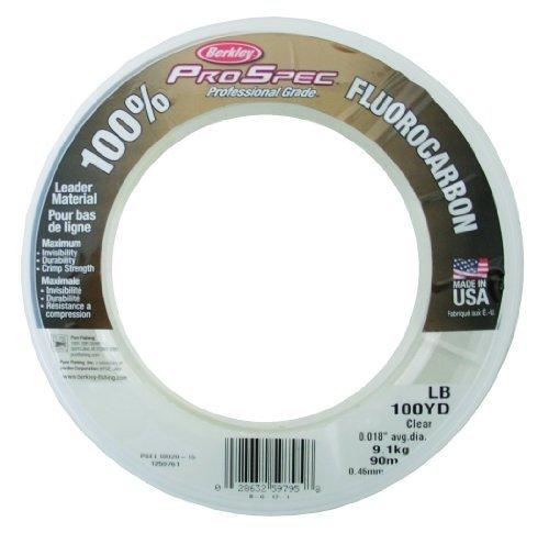 Berkley Pro Spec Fluorocarbon 0.036-Inch Diameter Fishing Line by Berkley