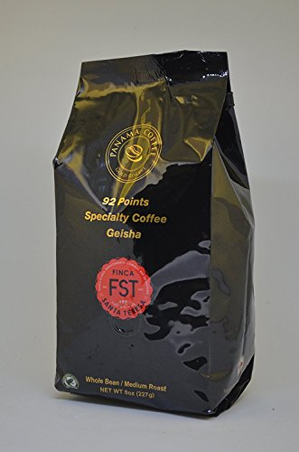 8oz,227g Panama FST Geisha Natural Whole Beans