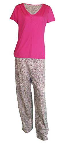 Rivers Trading - Ensemble de pyjama - Femme multicolore rose