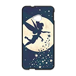 Romantic flying Flower FairyCell Phone Case for HTC One M7
