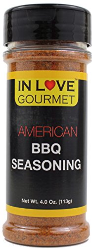 American BBQ Seasoning 4.0 oz. (113G) By In Love Gourmet