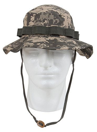 Rothco Boonie Hat, ACU Digital Camo - (8) Inch - Import It All