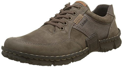 Josef Seibel Willow 22, Scarpe Stringate Uomo Multicolore (Multicolore (Moro/Kombi 328))