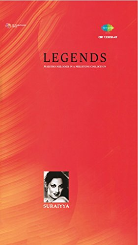 Suraiyya - Legends - Maestro Melodies In A Milestone Collection (5-CD Pack / 68 Songs / Greatest Hits Of Suraiya / Collector's Edition)