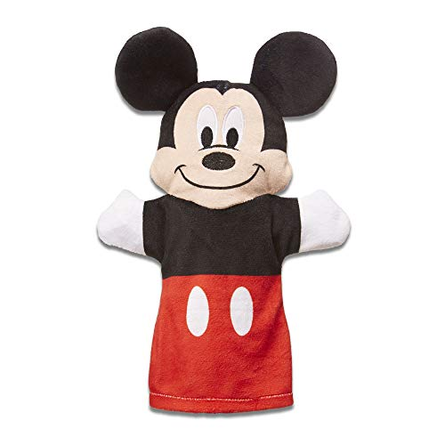 """Melissa & Doug Mickey Mouse & Friends Hand Puppets; Puppet Sets; Mickey, Minnie, Donald, and Goofy; Soft Plush Material; Set of 4; 9.5"""" H x 14.2"""" W x 2.1"""" L by Melissa & Doug (Image #2)"""
