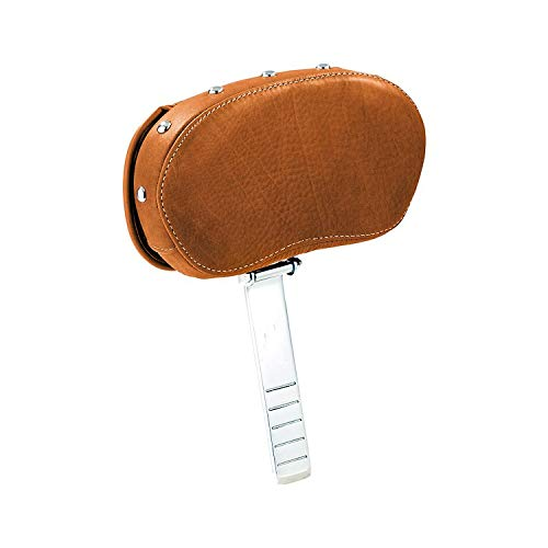 Polaris 2014-2019 Indian Genuine Leather Deluxe Driver BACKREST TAN 2879542-06 (Driver Motorcycle Backrest)