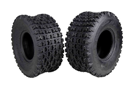 2 Set MASSFX 20X10-9 Dual Compound EOC20109 ATV Tires Rear 6 ply 20x10x9 2 Pack by MASSFX