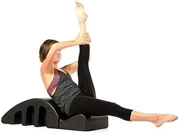 EDSZY Pilates Massagebett Wirbels/äulenorthese Pilates Deformit/ät der Wirbels/äule Geb/ärmutterhalskorrektur Yoga Schaum Kyphose Korrektur Fitnessger/äte Pilates Arc