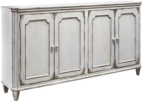 Signature Design by Ashley T505-560 Mirimyn Accent Cabinet with Doors, Whitewash