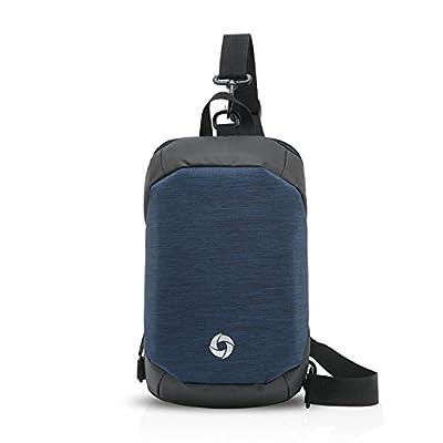on sale FANDARE Fashion Sling Bag Chest Pack Shoulder Backpack Crossbody  Bag Polyester f9787fad39