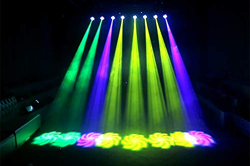 Blizzard Lighting Hypno Spot 30-Watt LED Moving Head Light with Aura Effect
