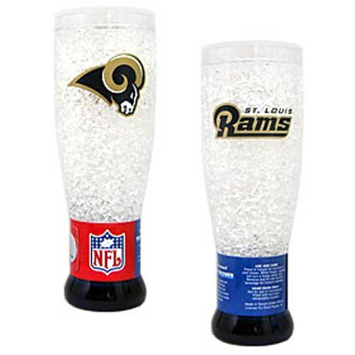 - NFL Los Angeles Rams 16oz Crystal Freezer Pilsner