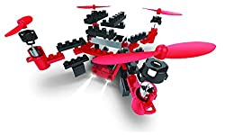 SIMREX X101 DIY Drone Building Blocks RC Quadcopter Altitude Hold Headless Rolls 6-Axis Gyro 4CH 2.4Ghz Remote Control Steady Super Easy Fly for Training