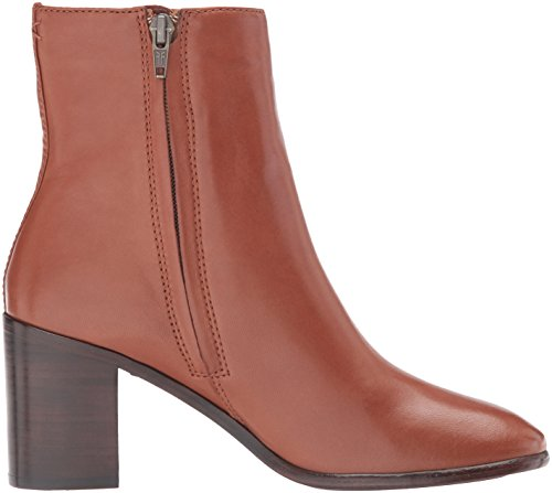 Frye Womens Julia Bootie Boot Cognac Morbido Nappa Di Agnello