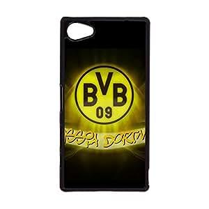 Sony Xperia Z5 Compact Fashion Design Mobile Phone Case,Classical Creative Dortmund BVB 09 Logo Durable Sony Xperia Z5 Compact Protective Shell Case