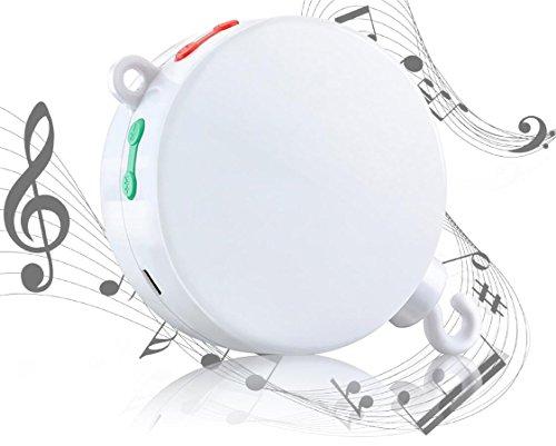 MYTK neue, verbesserte Version der elektrischen, batteriebetriebenen Spieluhr mit Micro-SD-Karten-Slot für Baby-Mobiles inklusive 128 MB Micro-SD-Karte mit 12 Melodien. Erweiterbar bis 2 GB