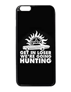 Get in Loser We're Going Hunting Uniqued Pattern Design Pattern Hard Shell Back Case Cover For iPhone 6 Plus 5.5""