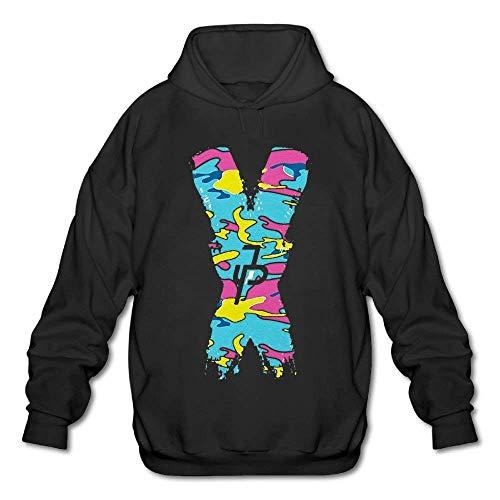 CoCosly Men Jake Paul Team 10 Hoodies Merch Cotton Sweatshirt Clothes for Men Teen Boys Sweatshirts Hoodie Black