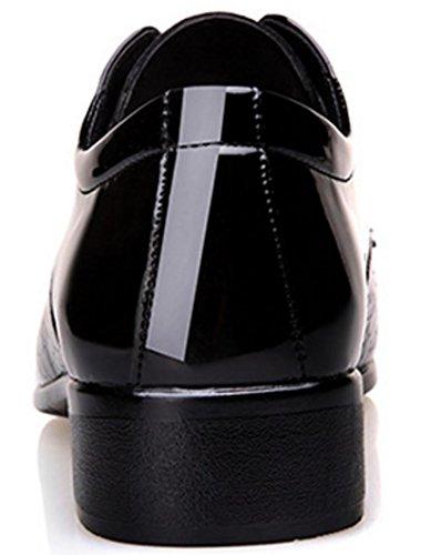 sposa da Nuovo coreano dimensioni Scarpe black grandi da uomo vestito Scarpe uomo casual banchetto MLFMHR Scarpe da Scarpe d'affari di Scarpe da SWH6Uqwd