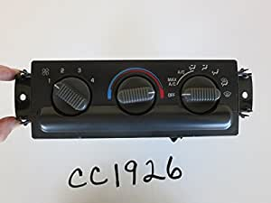 99 00 01 02 03 04 CHEVY S10 CLIMATE CONTROL PANEL TEMPERATURE UNIT OEM CC1926