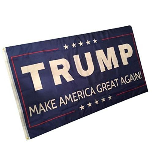 [3x5 Donald Trump For President Make America Great Again Flag 3'x5' Banner #1] (Donald Duck Costumes For Adults)